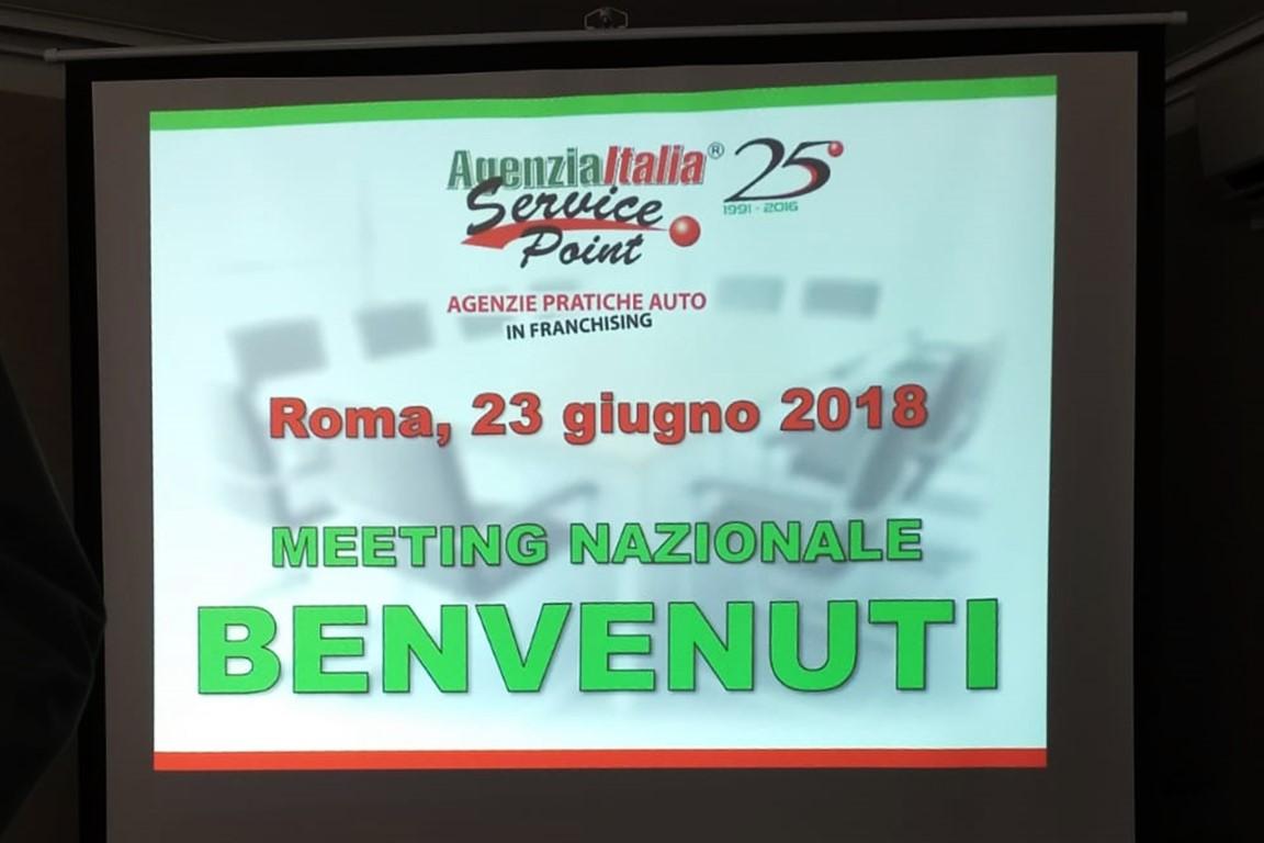MEETING NAZIONALE - Roma 23 Giugno 2018 - Agenzia Italia